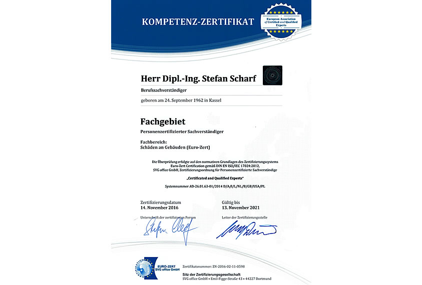 17024 Zertifikat